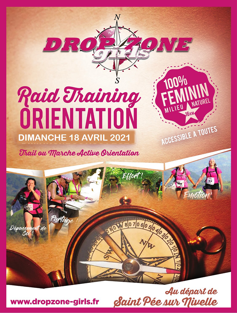 Edition 2021- Dropzone Girls Raid Orientation